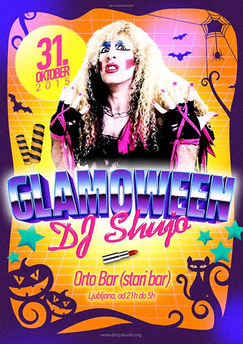 Glamoween w/ DJ Šujo