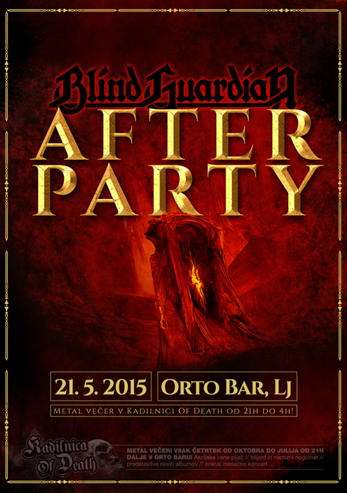 Kadilnica Of Death: Blind Guardian Afterparty