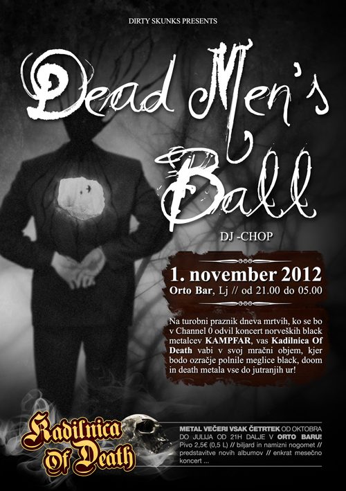 Kadilnica Of Death: Dead Mens Ball