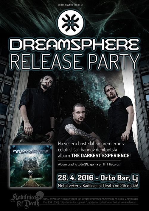 Kadilnica of Death: Dreamsphere Release Party