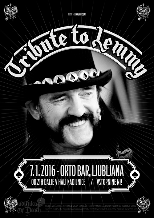 Kadilnica Of Death: Tribute to Lemmy