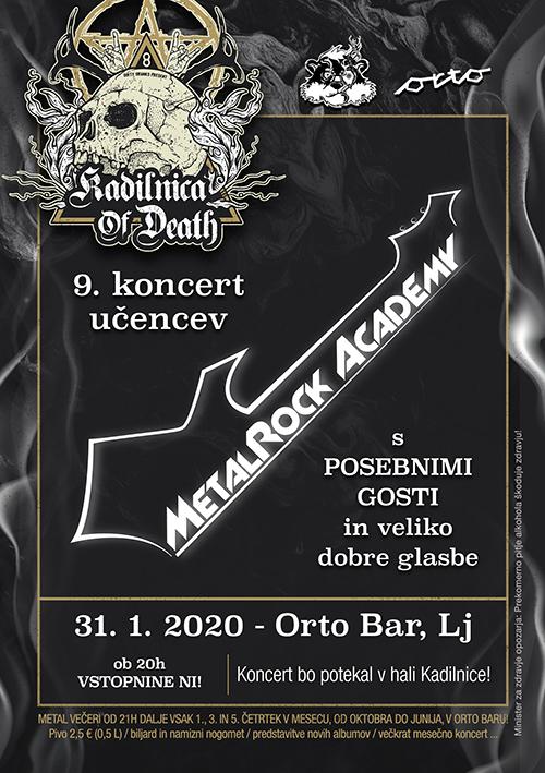 Kadilnica of Death Extra: MetalRock Akademija (Si)