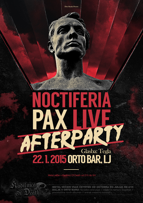 Kadilnica Of Death: Noctiferia - PAX Live Afterparty