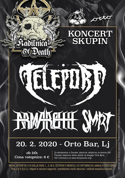 Kadilnica of Death: Teleport (Si), Armaroth (Si), Smrt (Si)