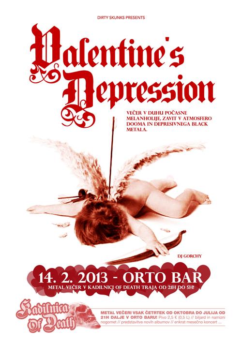 Kadilnica Of Death: Valentines Depression